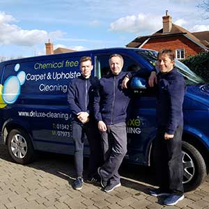 carpet cleaning team in crawley