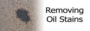 Removing Carpet Oil Stain